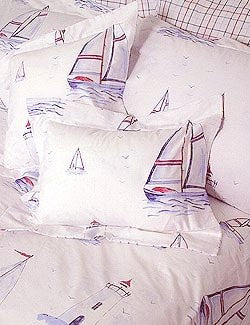 Sailing Away Bed Shams