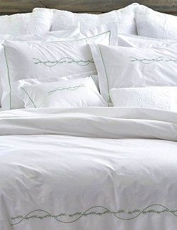 Sargasso Sea Embroidered Bedding Collection