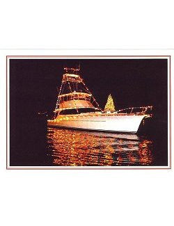 Boat Parade Holiday Cards - Nautical Luxuries