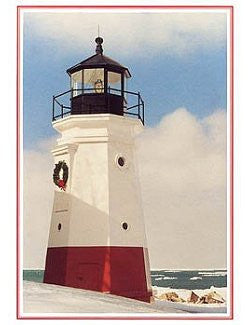 Vermilion Lighthouse Holiday Cards