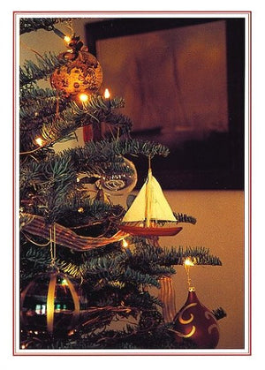Nautical Tree Boxed Holiday Cards - Nautical Luxuries