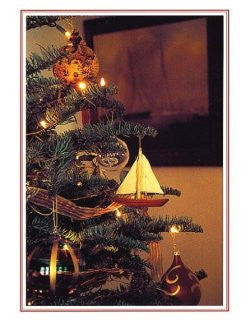 Nautical Tree Boxed Holiday Cards