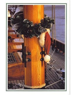 Santa's Hat Boxed Holiday Cards - Nautical Luxuries