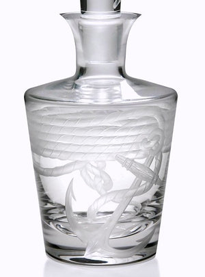 Anchor & Line Bohemian Crystal Barware - Nautical Luxuries
