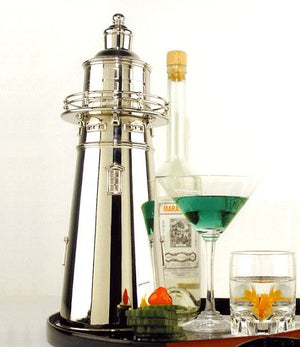 Coastal Beacon Cocktail Shaker - Nautical Luxuries