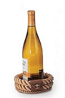 Italian Design Rope Wine Caddy