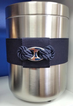 Anchor Chain Link Accent Wine Chiller - Nautical Luxuries