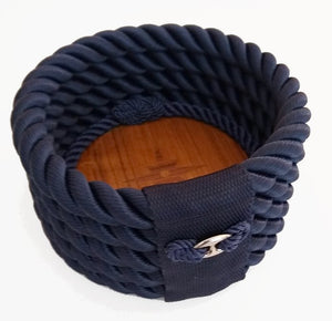 Italian Design Rope Wine Caddy - Nautical Luxuries