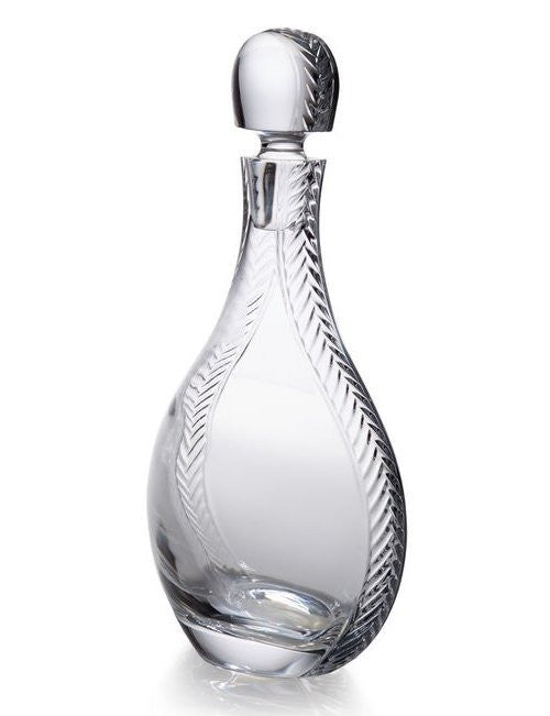 Rope Braid Crystal Decanter
