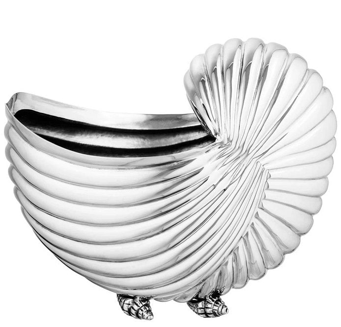 Majestic Shell Footed Wine Cooler - Nautical Luxuries