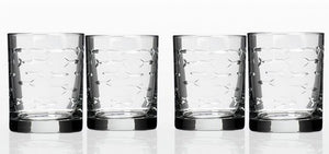 Engraved Fish Coastal Barware/Stemware Collection - Nautical Luxuries