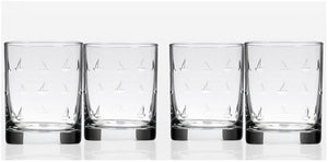 High Seas Sailing Glass Barware Collection - Nautical Luxuries