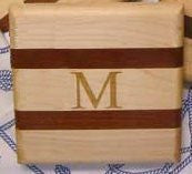 Mahogany & Maple Mini Bar Block - Nautical Luxuries