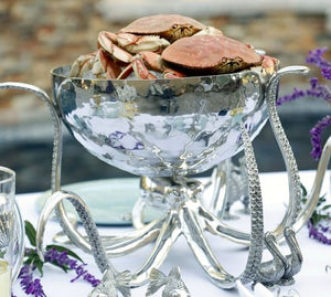 Denizen Of The Deep Grande Party Centerpiece Bowl - Nautical Luxuries