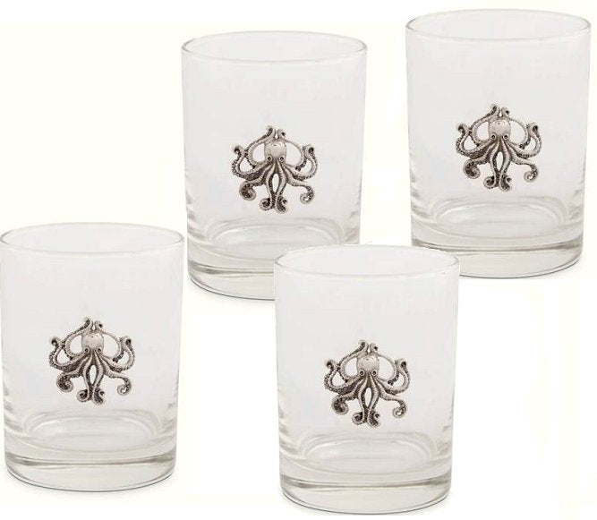 Tentacles Glass Tumbler Set