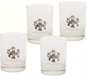 Tentacles Glass Tumbler Set - Nautical Luxuries