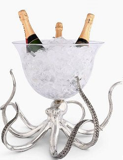 Denizen Of The Deep Grande Party Beverage Bowl - Nautical Luxuries