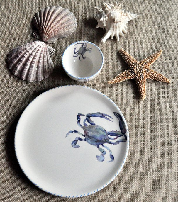 Italian Hand-Painted Ceramics/Frutti di Mare - Nautical Luxuries