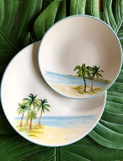 Italian Hand-Painted Ceramics/La Palma - Nautical Luxuries