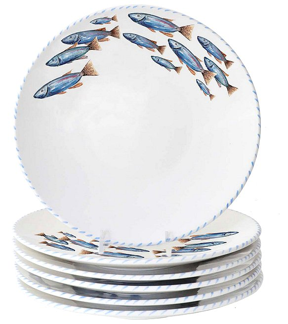 Italian Hand-Painted Ceramics/Pesce - Nautical Luxuries