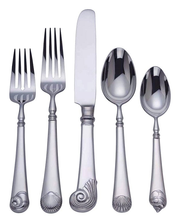 Captain's Table Coastal Stainless Flatware