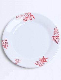 Non-Skid Barrier Reef Melamine Dinnerware - Nautical Luxuries