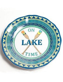 Non-Skid Lake House Luxury Melamine Dinnerware - Nautical Luxuries