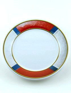 Non-Skid Life Ring Melamine Dinnerware - Nautical Luxuries