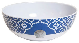 Non-Skid Sea Scallop Luxury Melamine Dinnerware - Nautical Luxuries