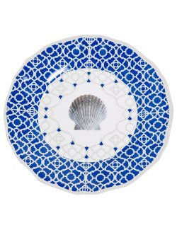 Non-Skid Sea Scallop Luxury Melamine Dinnerware
