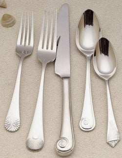 Shore Life Stainless Flatware - Nautical Luxuries