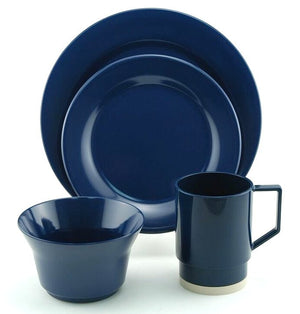 Non-Skid Nautical Classics Melamine Dinnerware Sets