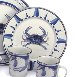 Porcelain Enamelware Dinnerware - Nautical Luxuries