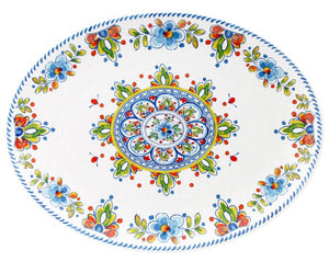 Old World: Aegean White Melamine Dinnerware - Nautical Luxuries