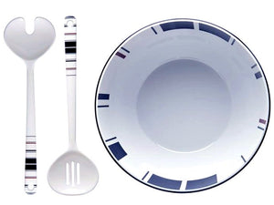 Saint-Tropez Non-Breakable 3-Pc. Salad Set - Nautical Luxuries