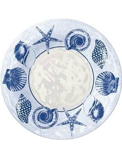 La Costa Seashells Melamine Dinnerware - Nautical Luxuries