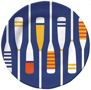 Rowing Oars Melamine Dinnerware - Nautical Luxuries