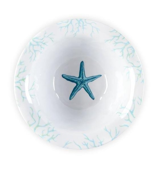 luxury coastal nonbreakable dinnerware