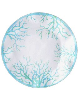 Turquoise Reef Melamine Dinnerware - Nautical Luxuries