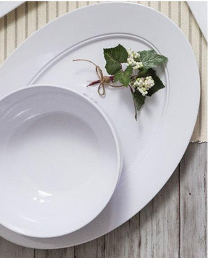 Moda Luxury Melamine Dinnerware - Nautical Luxuries