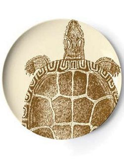 Sea Turtle Melamine 2-Pc. Serving Platter Set