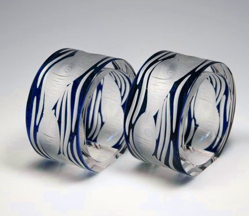 Sardinki Bohemian Hand-Engraved Crystal Collection