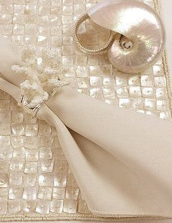 Mother of Pearl Placemats & Table Runners