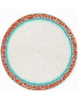 Amalfi Dawn Hand-Beaded Luxury Placemats