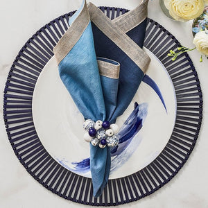 Bamboo Open Slat Placemat Sets - Nautical Luxuries