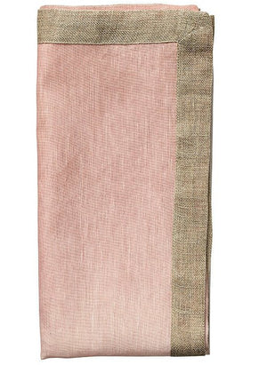 Summer Dawn Ombre Linen Napkin Set - Nautical Luxuries