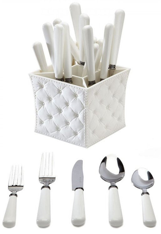 Beach Life Stainless Steel Flatware Sets - Nautical Luxuries