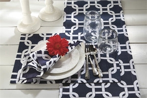 Nautical Links Table Linens - Nautical Luxuries