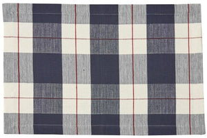 Nautical Plaid Table Linens - Nautical Luxuries