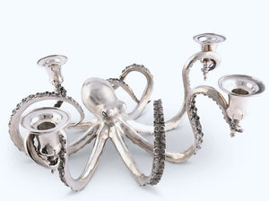 Denizen Of The Deep Centerpiece Candelabrum - Nautical Luxuries